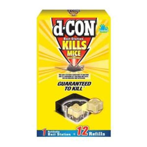 d con mouse bait station 12 refill 19200 89480 the