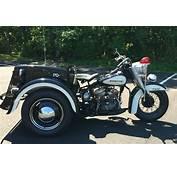 1963 Harley Davidson Police Trike Survivor