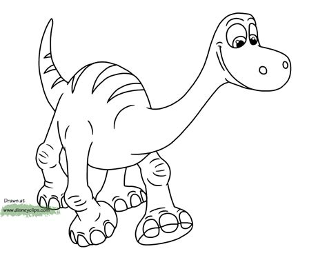 Good Dinosaur Coloring Pages Pdf | the good dinosaur coloring pages google search fun
