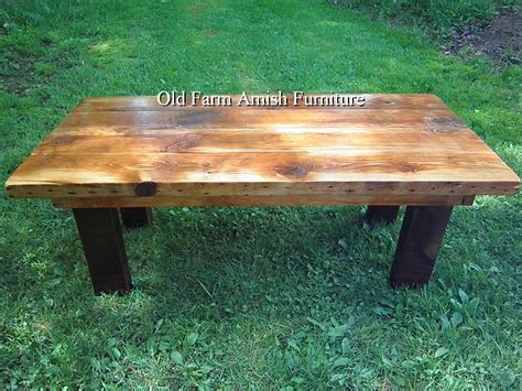Rustic Barnwood Coffee Table Crafted Reclaimed Barnwood Coffee Table End Tables By Farm Amish Furniture Handmade