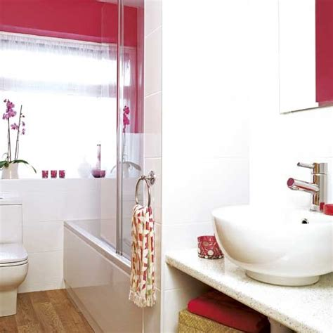 Rosa Badezimmer by Colourful Bathroom Housetohome Co Uk