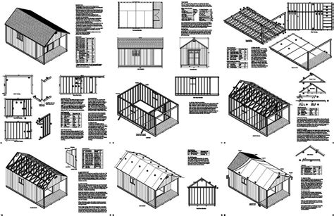 100 Floors Level 99 Reason - 20 x 12 cabin guest house building covered porch shed