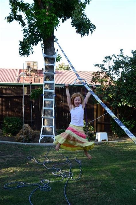backyard zip line diy 14 awesome ideas for your backyard this summer part 2