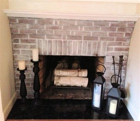 Red And Purple Home Decor poll white wash brick fireplace yes or no