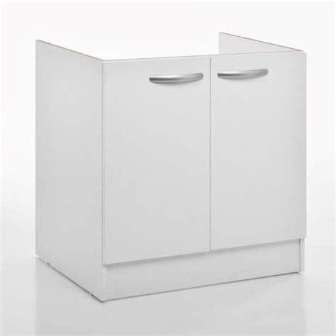 poubelle sous evier leroy merlin meuble de cuisine sous vier portes blanc hx lx pcm leroy