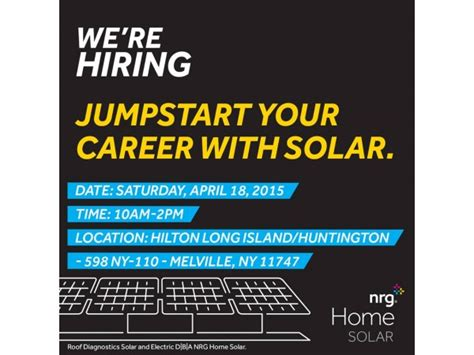 nrg home solar bill pay nrg home solar hosts open house on island huntington ny patch