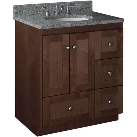 By Vanity by Simplicity By Strasser Shaker 30 In W X 21 In D X 34 5
