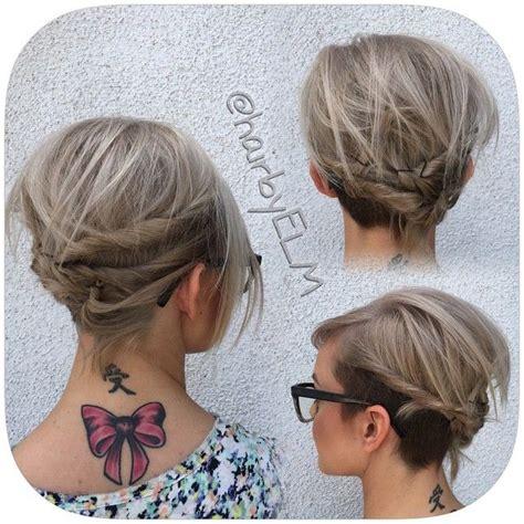 neckline hairstyles undercut neckline