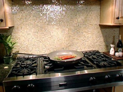 Kitchen With Mosaic Backsplash by Subway Tile Backsplash