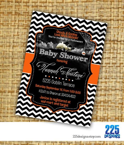free printable halloween baby shower invitations halloween baby showers ideas fall gend and free gender
