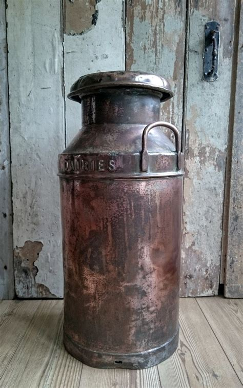 antiques atlas copper milk churn