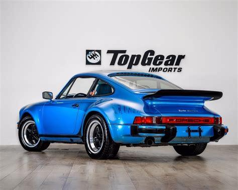 porsche 930 turbo blue minerva blue metallic 1977 porsche 930 turbo