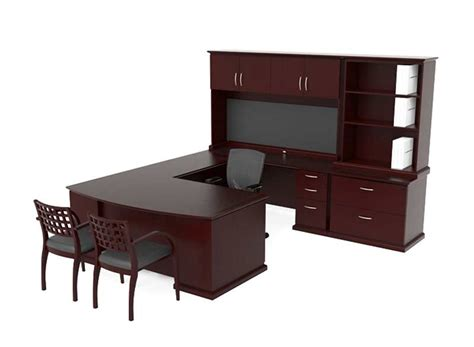 executive office suite furniture modern u shaped executive office suite ch e 420 desks
