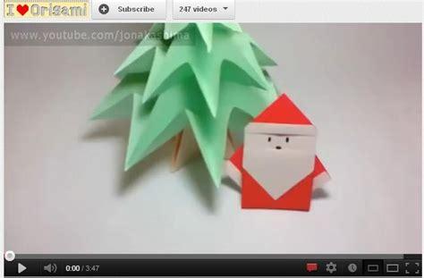 Simple Origami Santa Claus - 25 melhores ideias de papai noel de origami no