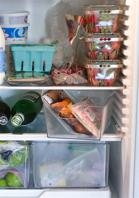 Refrigerated Chicken Shelf by Tip Put A Separate Bin In Your Refrigerator For Kitchn