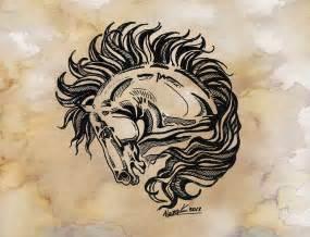 horse tattoo 2 by kantaka1 on deviantart