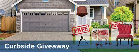 Curbside Giveaway - curbside giveaway