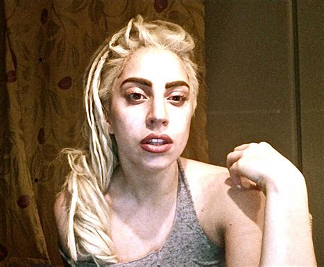 35 Shocking Pictures Of Without Makeup by Gaga 35 Shocking Pictures Of