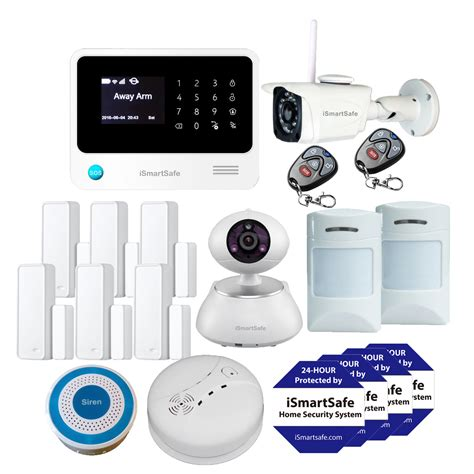 home security system premium package burglar alarm systems ismartsafe