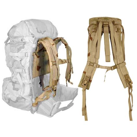 molle ii back pack shoulder straps desert camo army