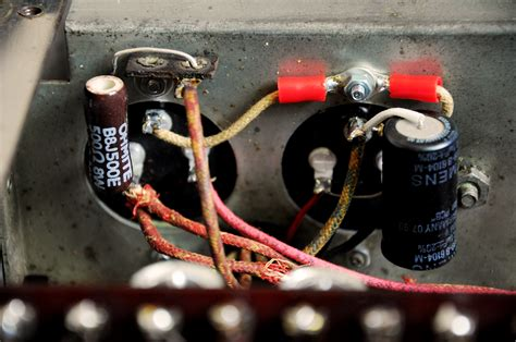 capacitor resistor power supply magic moment mcintosh 275 modify with capacitors adventure part 2