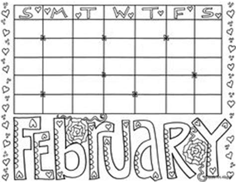 doodle like calendar 25 best ideas about february calendar on free