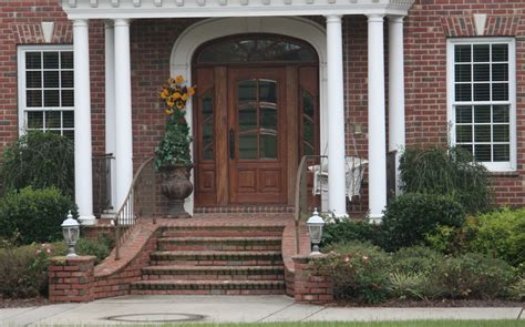 front of house designs stairs from front of the house design including brick porch steps designs full