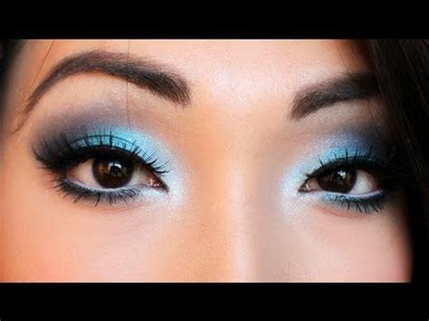 Eyeshadow Blue smokey blue eyeshadow tutorial
