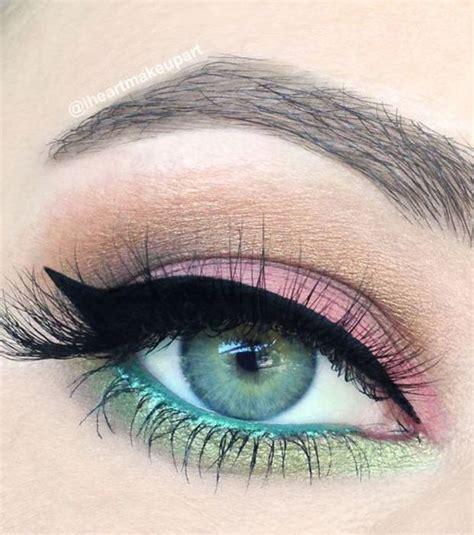 imagenes de ojos verdes y azules 15 ideas de maquillaje muy ca 241 eras para destacar los ojos