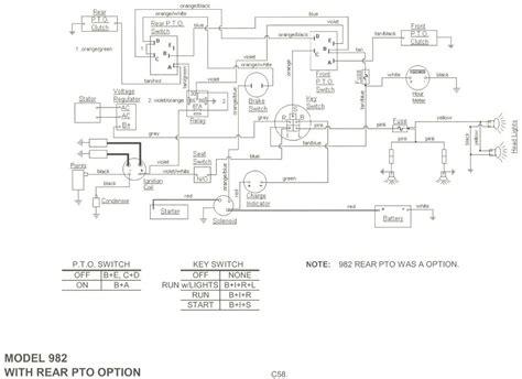diagram 1000 lights 1200 cub cadet wiring diagrams get