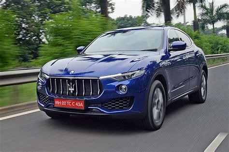 Maserati Test Drive by 2017 Maserati Levante Review Test Drive Autocar India