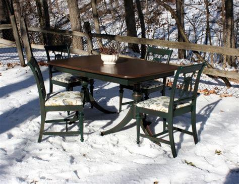 emerald green home decor custom set furniture quot hunter green quot dining set general finishes design center