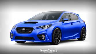 Subaru Wrx Hatch 2018 Subaru Impreza Wrx Sti Rendered As A Hatchback