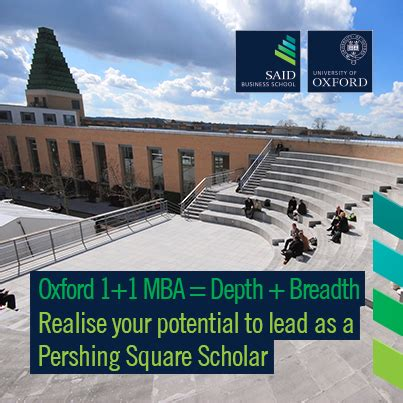 Oxford Mba Tuition Fees by Oxford Pershing Square Graduate Scholarship 2015 2017