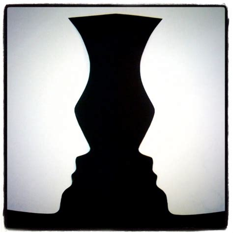 Vase Illusion optical illusions that are simple yet so wonderful bored