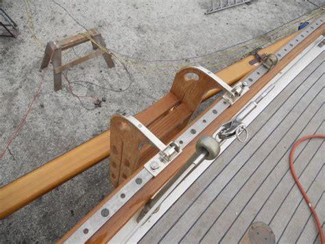 wooden boat ladder hardware custom boarding ladder ri boatwrights