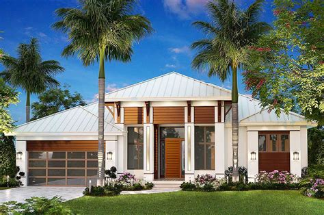 dramatic florida house plan  architectural designs house plans