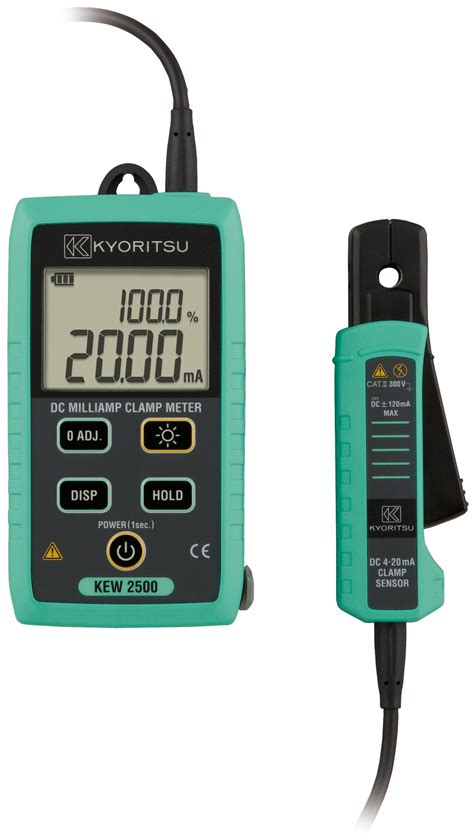 Multimeter Kyoritsu kyoritsu 2500 dc milli cl meter test equipment