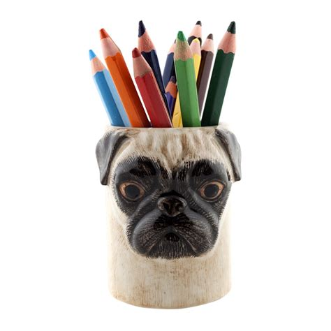 ceramic pug buy quail ceramics ceramic pug pen pot fawn amara