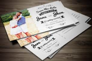 wedding invitation postcard invitation templates on creative market