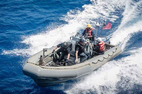 military rubber boat rigid hull inflatable boat military