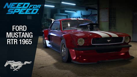 speed mustang need for speed 2015 ford mustang rtr 1965