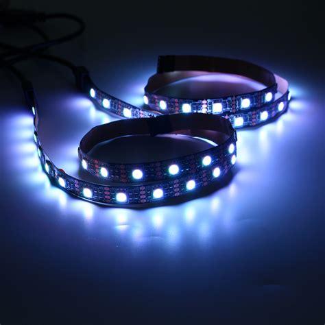 2pcs 50cm 5050 rgb usb led light bar tv background lighting non waterproof dc5v alex nld