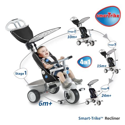smart trike recliner 4 in 1 black pin smart trike recliner arriva il triciclo 4 in 1 on