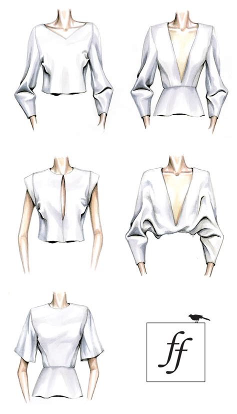 clothes design learning blouse