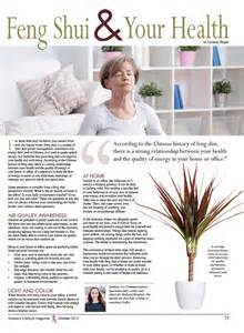feng shui for health feng shui your health women s lifestyle magazine