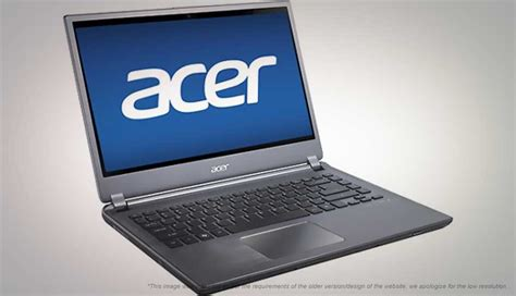 Laptop Acer Aspire M5 acer aspire m5 481t price in india specification features digit in