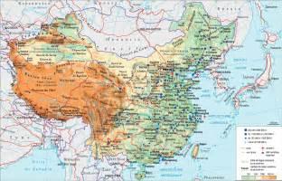 carte chine e evasion voyage