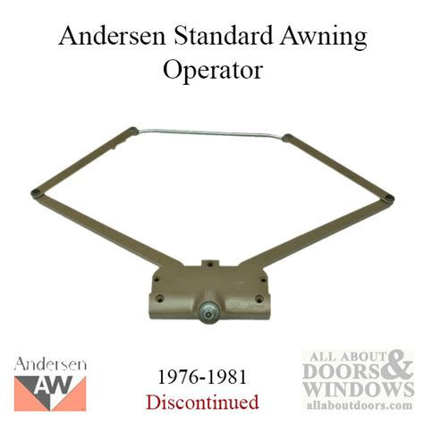 Andersen Awning Window Hardware by Andersen Awning Window Parts Hardware