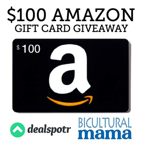 Travel And Get Amazon Gift Card - 100 amazon gift card giveaway save with dealspotr bicultural mama